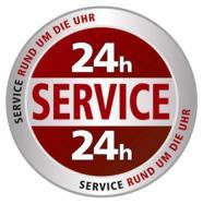 24 Stunden Notservice